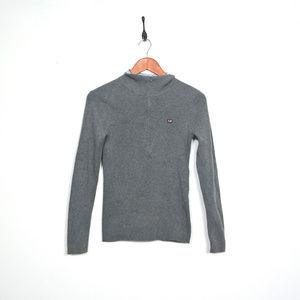 POLO RALPH LAUREN Vintage Mockneck Zip up Pullover